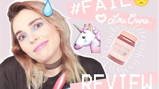 LIME CRIME SEXT Unicorn Hair 🦄 | REVIEW #FAIL