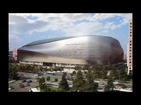 Новый стадион Сантьяго Бернабеу 2017 (Реал Мадрид)