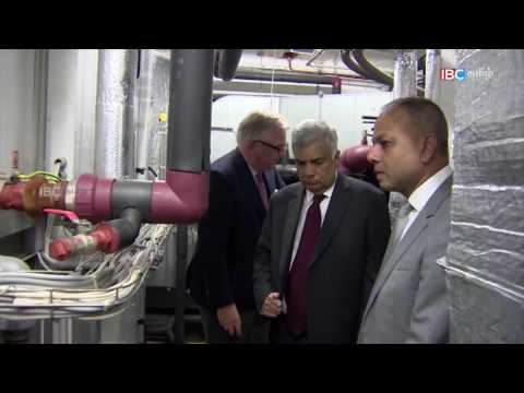 Ranil Meet with His Royal Highness Prince Laurent of Belgium at the Renewable Energy House 1