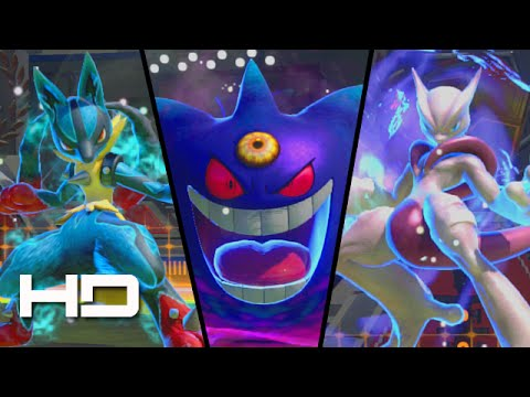 Pokken tournament all mega evolutions synergy burst transformations youtube - Mega evoulution ...