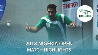 Aruna Quadri vs Khalid Assar | 2018 Nigeria Open Highlights (R32)