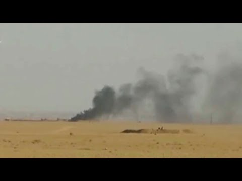 Iraqi air force destroys ISIL command center in Syria