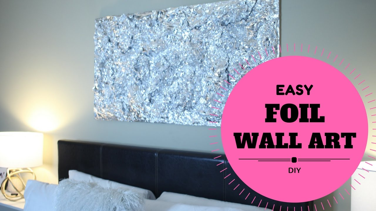 BUDGET DIY WALL ART DECOR FOR BEDROOM (EASY & CHEAP) $30
