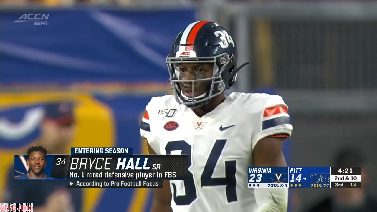 Jets take Virginia CB Bryce Hall in fifth round of NFL Draft