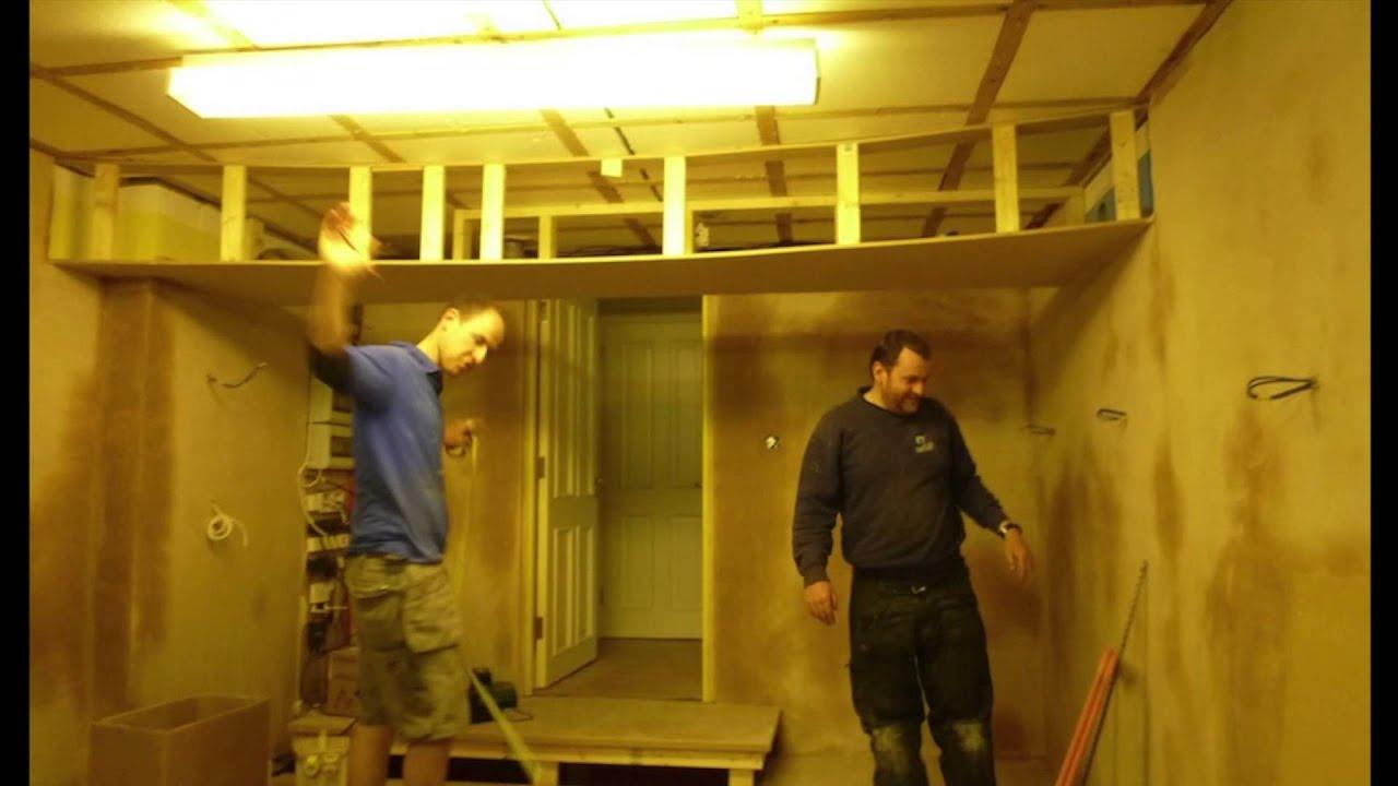 one car garage conversion ideas - Garage to Cinema conversion
