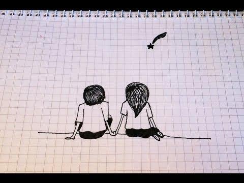 Как нарисовать карандашом любовь