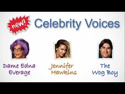 Whereis IPhone App Now With Celebrity Voices