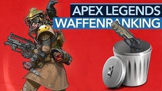 Die besten Waffen in Apex Legends - Ranking zu Season 1