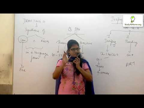 CS Professional - Drafting, Appearances & Pleading by CS Nidhi Maheshwari