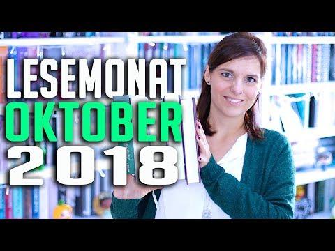 LESEMONAT Oktober 2018| gelesene Bücher im Monatsrückblick | melodyofbooks