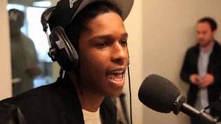 ASAP Rocky Freestyle in France
