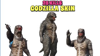 New Godzilla Suit Gameplay | PUBG Mobile | 25 Kills Solo vs Squad!