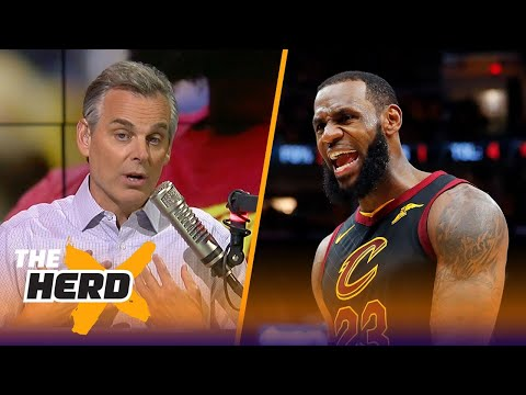 Colin Cowherd on LeBron's future in the NBA if the Cavs lose Game 4 to Boston  NBA  THE HERD