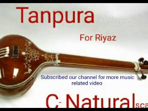 C - scale  Tanpura for Riyaz Flute and vocal Etc. Professional recorded Tanpura