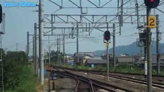 前面展望 JR四国 普通列車 琴平発高松行 発車シーン(4K)