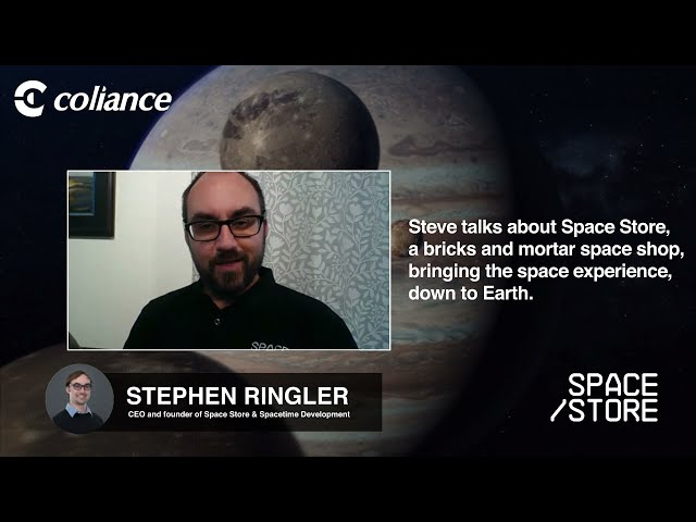 Coliance talk to Space Store - Stephen Ringler introduces Space Store