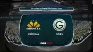 Criciuma x Goias PES 2017 Patch BMPES Campeonato Brasileiro Serie B