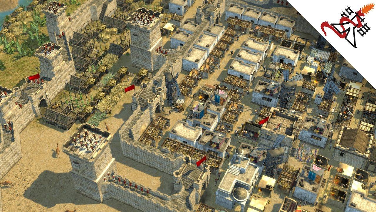 Stronghold Crusader 2 - BUILDING A KINGDOM - YouTube