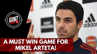 A Must Win Game For Mikel Arteta! | All Gunz Blazing Podcast Ft. DT