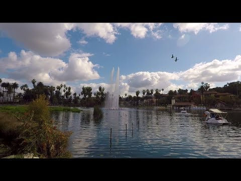 A SLOW WALK AROUND ECHO PARK LAKE