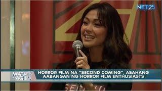 """Panibagong horror film genre na """"Second Coming"""" tiyak na aabangan ng mga horror film enthusiast"""