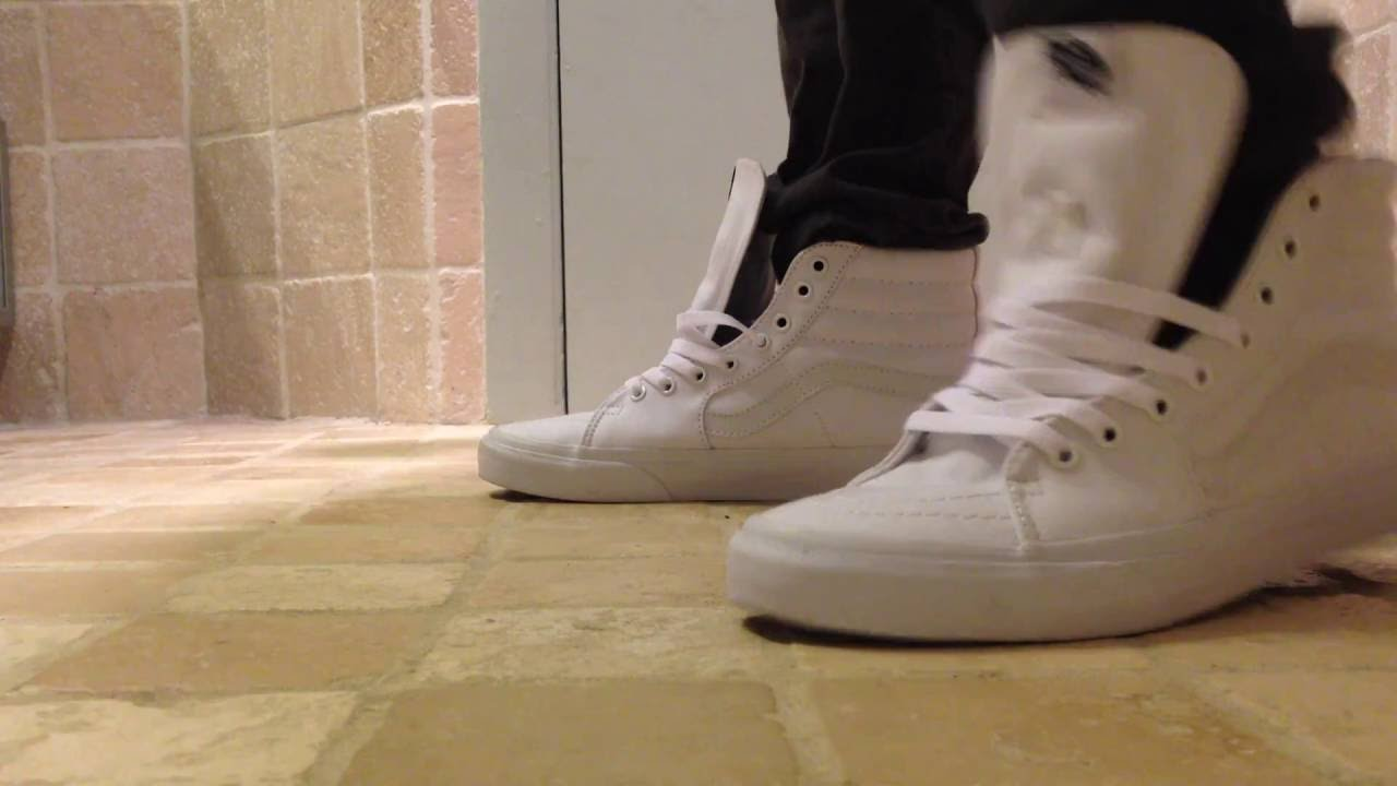 Vans shoeplay high tops (loose laced) - YouTube 81539dcd870a