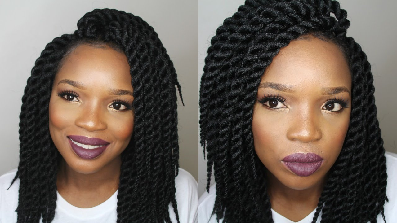 DIY : CROCHET BRAIDS TWIST