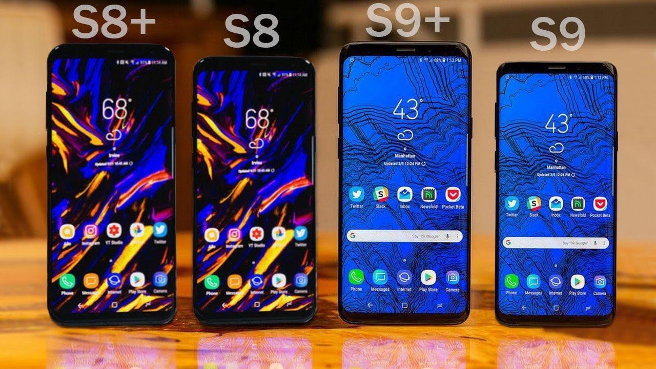Vergleich Samsung S8 Plus Und S9 Plus
