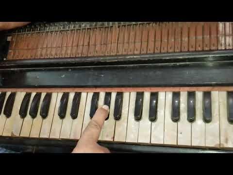 Phir Chhidi Raat Baat Phoolon Ki   Bazaar   Harmonium Tutorial   Piano Tutorial