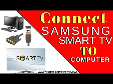 How To Connect Computer To Samsung Smart Tv - Samsung Tv Hdmi Cable Not Working