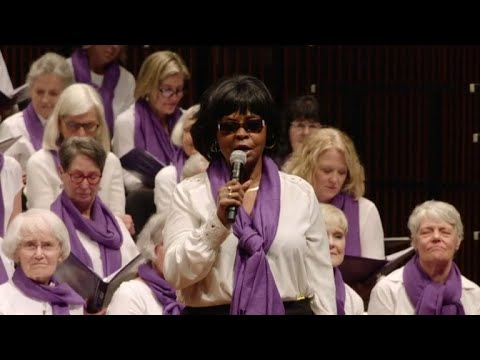 Chorus battles a common enemy by raising their voices
