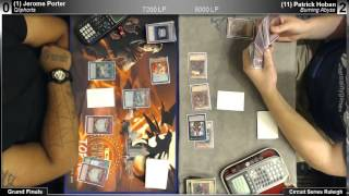 ARG Raleigh Grand Finals - Jerome Porter (Qliphorts) vs. Patrick Hoban (Burning Abyss) - 1 / 2