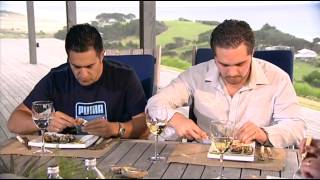 Kai Ora: Mussels, John Dory, Rib-eye On The Bone, & Fruit Salad For Julian Wilcox And Te Arahi Maipi