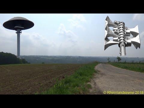 Sirenenprobe Im Bergischen Land - Sirenenkonzert Diverser E57 Und SES In Lohmar