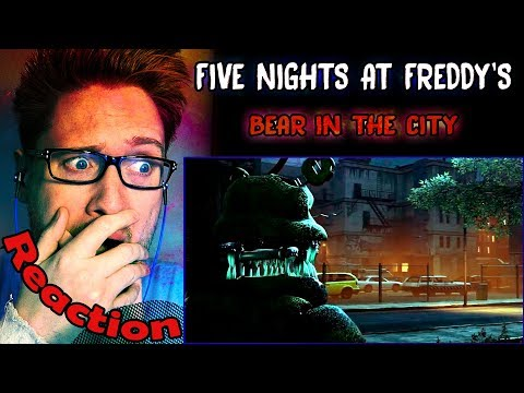 """Bear In The City"" (FNAF) by GoldenLane Studio REACTION! 