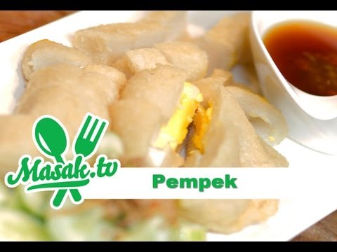Resep Pempek Palembang Lenjer dan Kapal Selam - Pempek Recipe Feat Nuruddin 'Jajanan Depok'