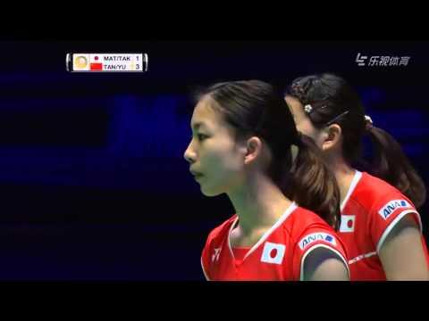 2016 All England - Finals - Misaki Matsutomo/Ayaka Takahashi vs Tang Yuanting/Yu Yang