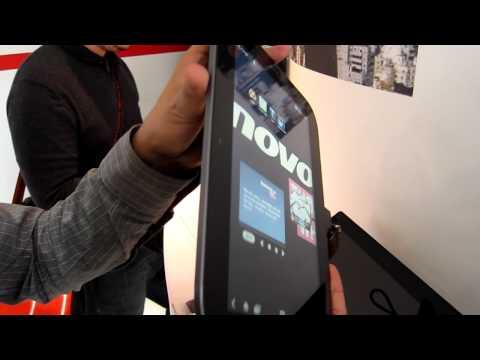 Lenovo IdeaPad K1 - IFA 2011 Hands-On - androidnext.de