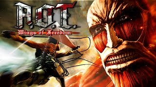 Attack on Titan Wings of Freedom English Part 1 Prologue Gameplay Walkthrough