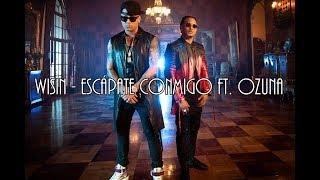 [English & Spanish Lyrics] Wisin - Escápate Conmigo ft. Ozuna