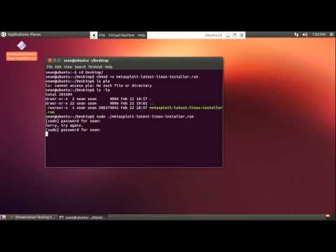 How to install Metasploit Tutorial