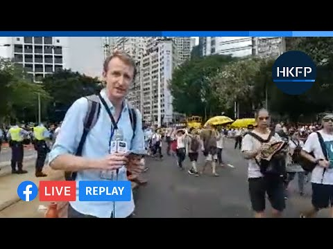 [From June 9, 2019] HKFP_Live Replay: Thousands of Hongkongers protest against extradition bill