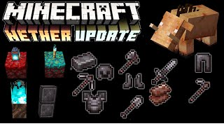 Minecraft 1.16 Nether Update Review | New Armor, New Mobs, New Biomes, New Blocks!