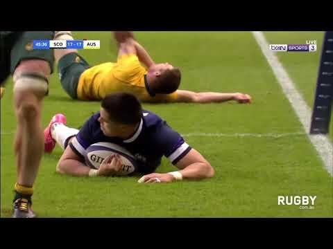 Scotland vs Wallabies highlights