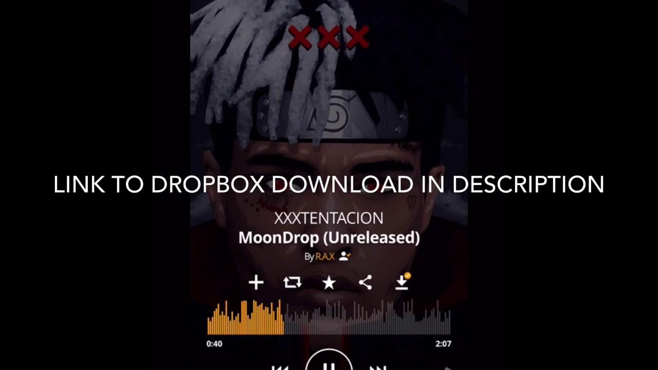 XXXTENTACION- Moondrop Unreleased Full Song (Dropbox