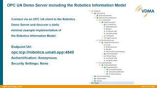 OPC UA for Robotics/Bernd Fiebiger, KUKA