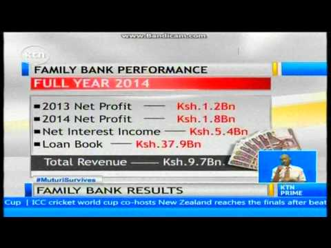 Family Bank has announce 49 per cent jump in pre-tax profit