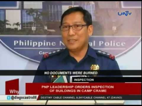 PNP leadership orders inspection of buildings in Camp Crame