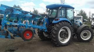New Holland TD5 110  С ПЛУГОМ ЛЕМКЕН