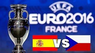 UEFA EM 2016: Spanien vs. Tschechien